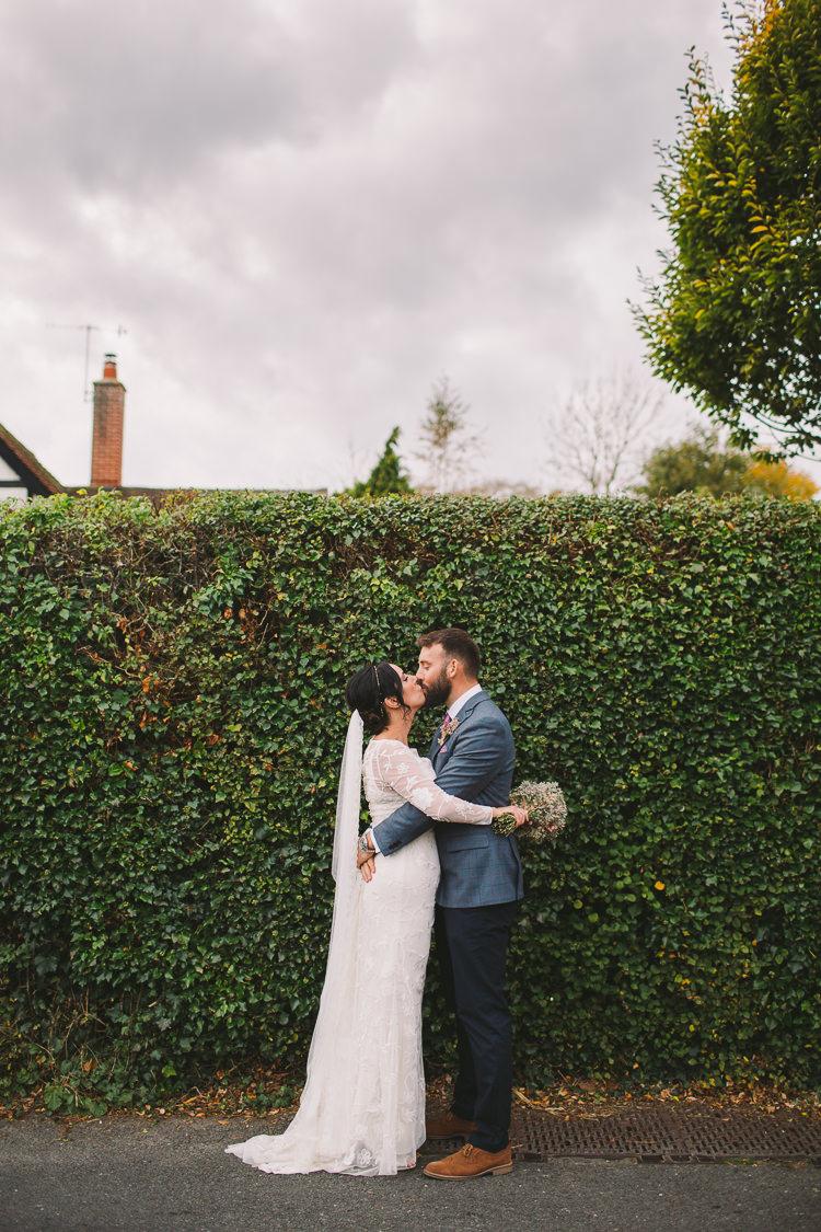 Monsoon Lace Dress Gown Bride Bridal Sleeves Fun-Loving Low Key Pub Wedding https://www.oliviajudah.co.uk/