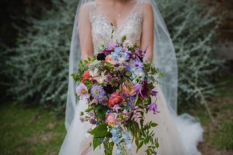Large Bouquet Bride Bridal Flowers Colourful Sparkle Old Hollywood Glamour Wedding https://www.jonnybarratt.com/