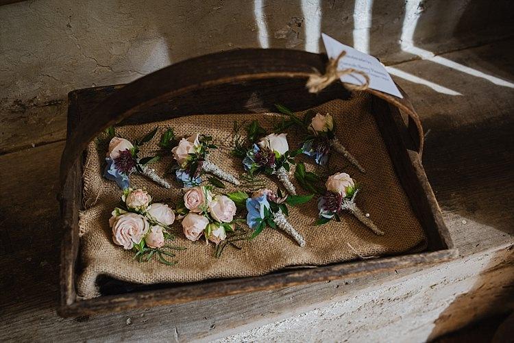 Buttonholes Flowers Sparkle Old Hollywood Glamour Wedding https://www.jonnybarratt.com/