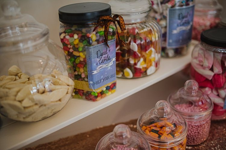 Sweets Sweetie Station Bar Sparkle Old Hollywood Glamour Wedding https://www.jonnybarratt.com/