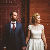 Industrial Cool Museum Wedding