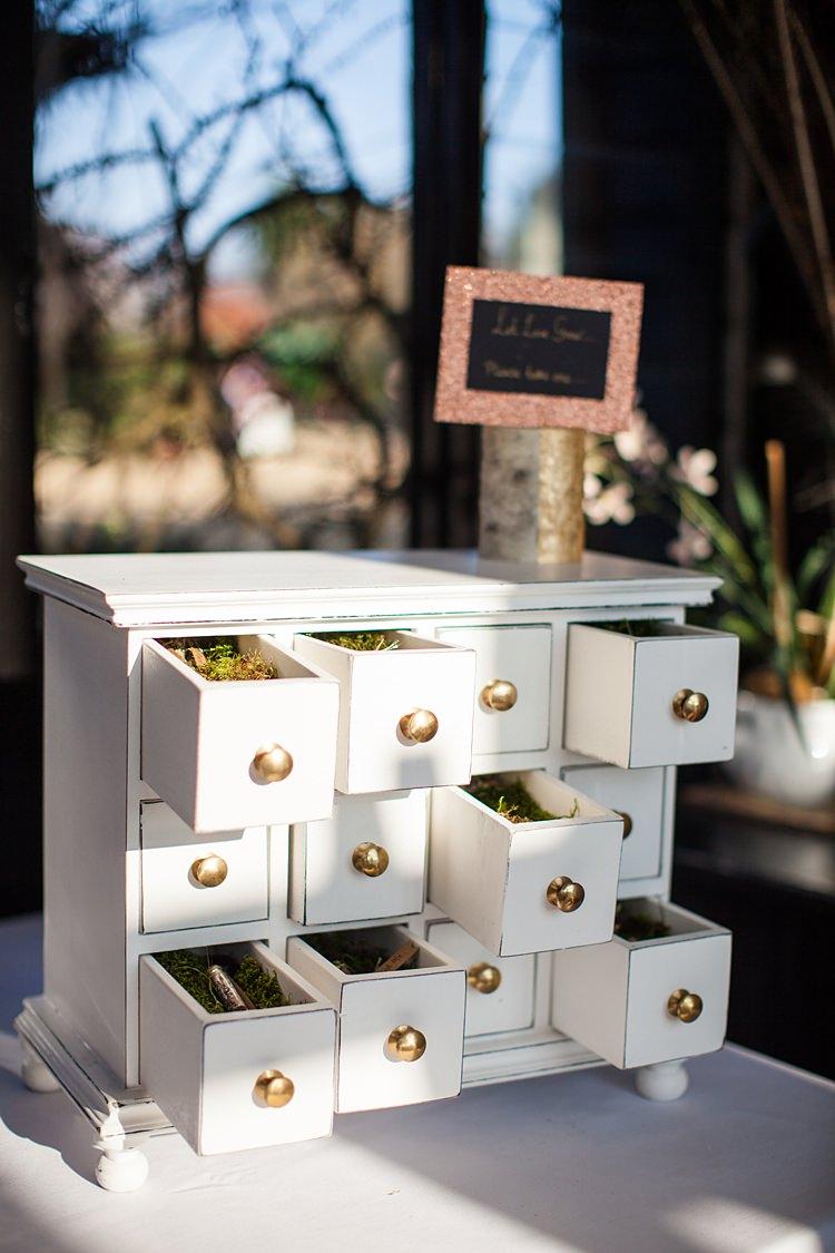 Favours Seeds Tubes Furniture Dresser Draws Fun Spring Floral Creative Wedding https://www.binkynixon.com/
