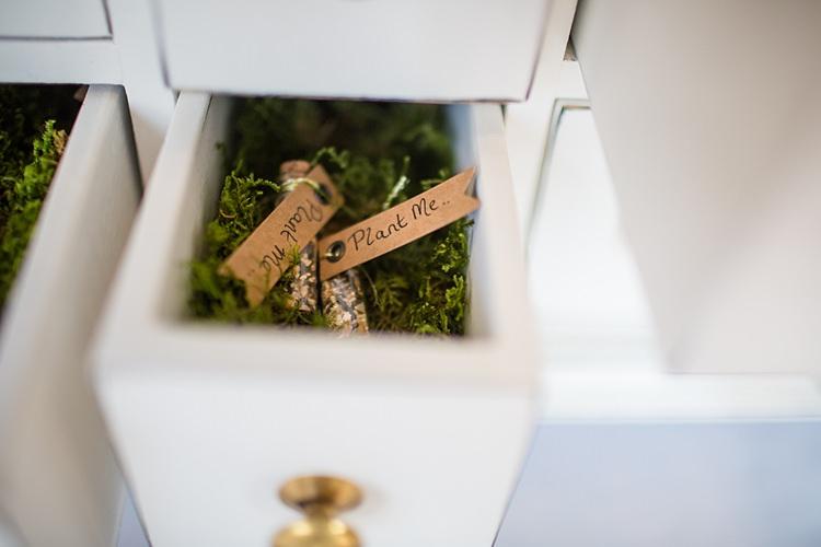 Seed Favours Tubes Fun Spring Floral Creative Wedding https://www.binkynixon.com/