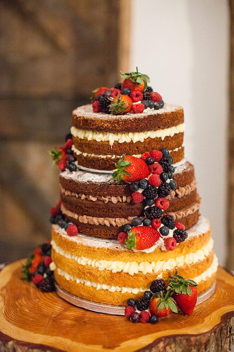 Naked Cake Sponge Layer Victoria Berries Fruit Fun Spring Floral Creative Wedding https://www.binkynixon.com/