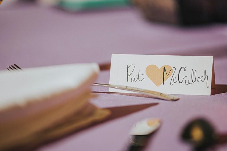 Place Name Card Calligraphy Modern Spring Botanic Garden Wedding Texas http://velvetsagephotography.com/