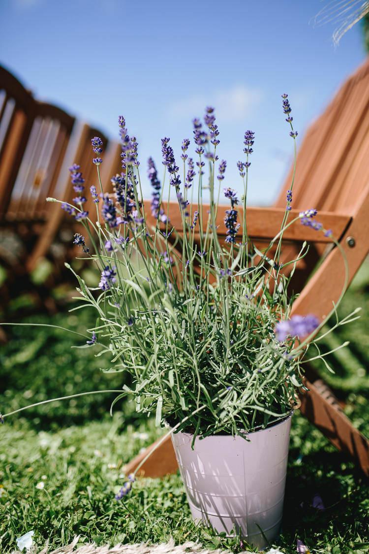 Lavender Tin Aisle Decor Pot Bucket Pretty Picturesque Outdoor Castle Wedding https://parkershots.com/