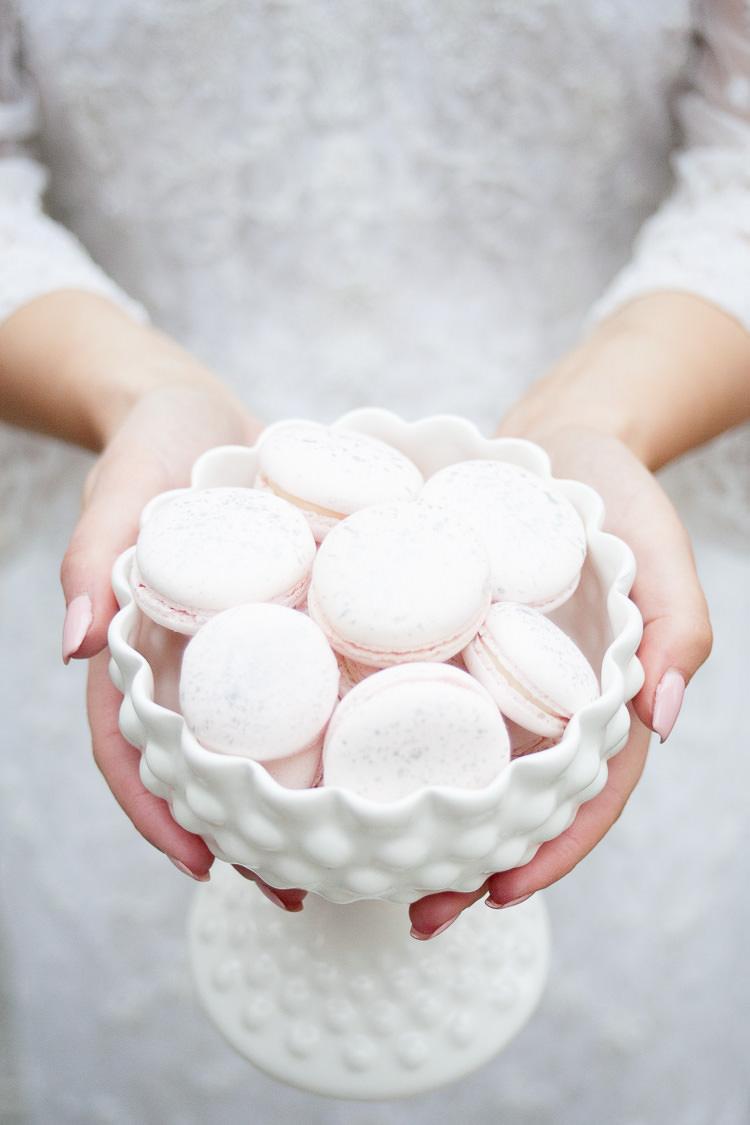Blush Pink Macarons Ethereal Soft Fine Art Wedding Ideas http://lizbakerphotography.co.uk/