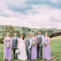 Beautiful Lilac Garden Wedding New Zealand http://www.levienphotography.com/