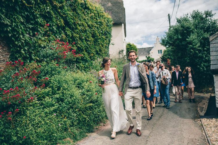Wildflower Village Green Handfasting Wedding http://www.naomijanephotography.com/