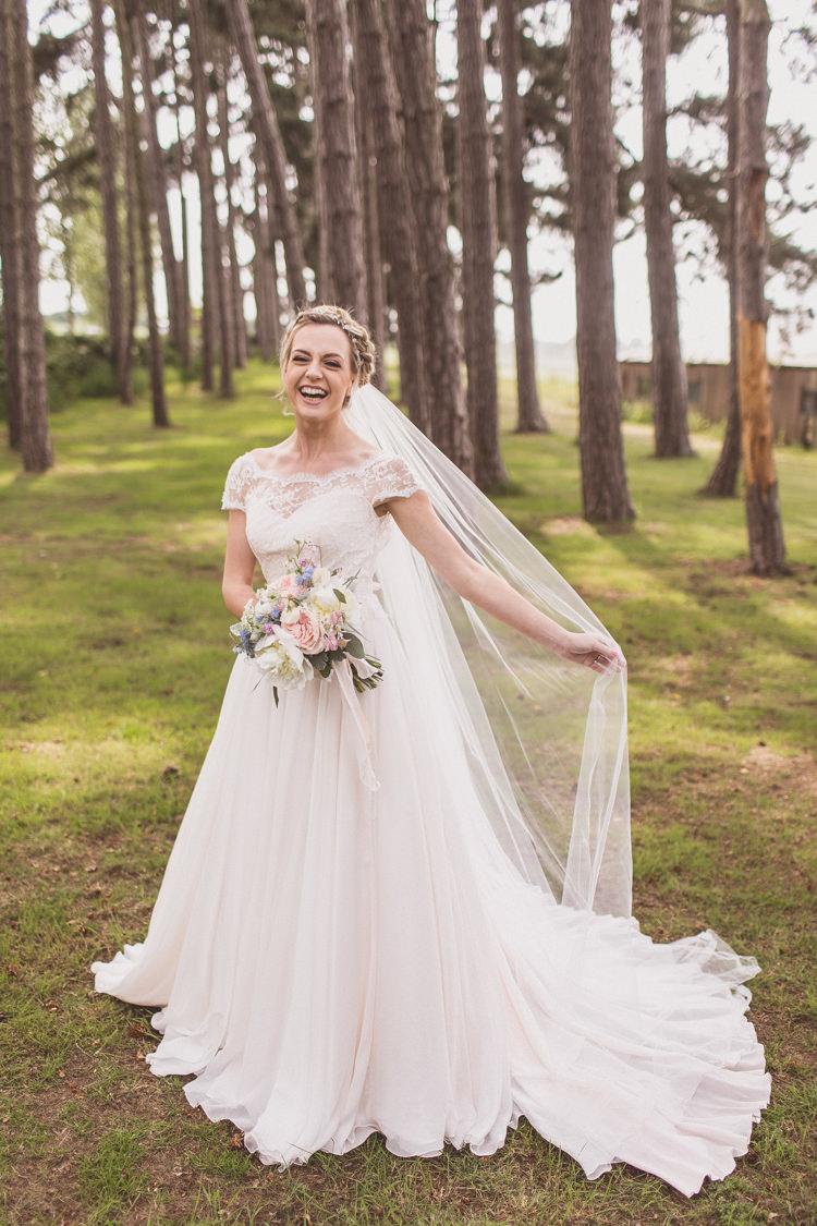 Veil Bride Bridal Rose Quartz Serenity Spring Wedding Ideas https://www.wearetheclarkes.com/