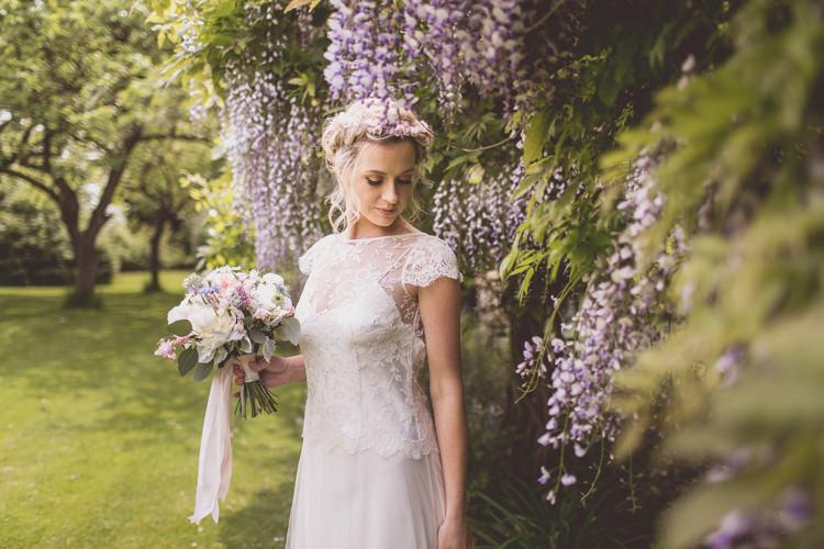 Wisteria Rose Quartz Serenity Spring Wedding Ideas https://www.wearetheclarkes.com/