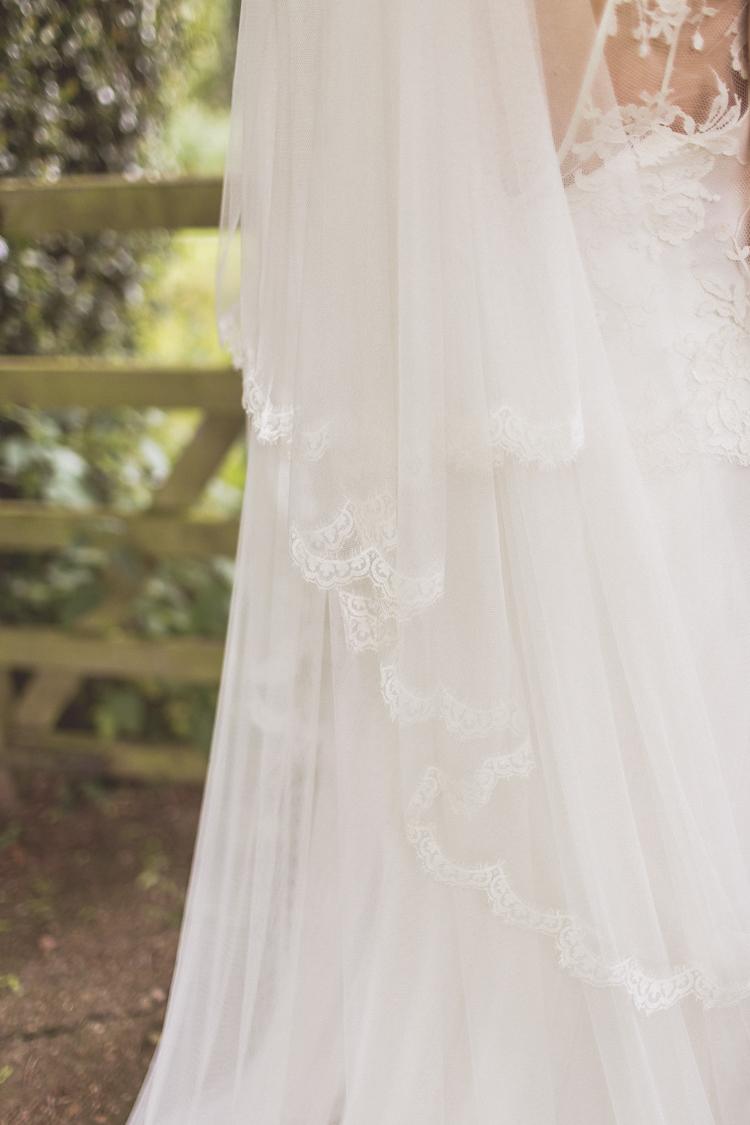 Lace Veil Bride Bridal Accessory Rose Quartz Serenity Spring Wedding Ideas https://www.wearetheclarkes.com/