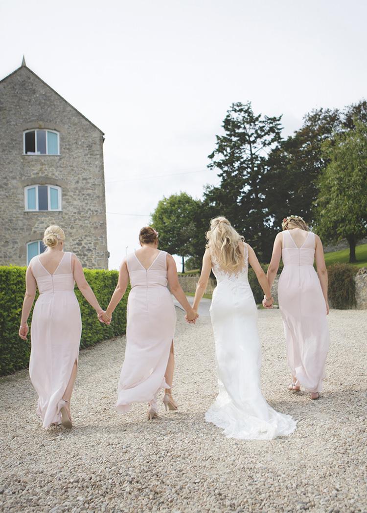 Bride Bridal Bridesmaids St Patrick Lipsy Pink Pastel Pretty Flower Garden Style Wedding http://katrinamatthewsphotography.co.uk/