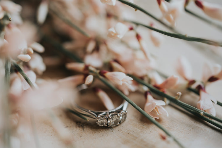 Engagement Ring Band Industrial Into The Wild Greenery Wedding Ideas http://www.ivoryfayre.com/