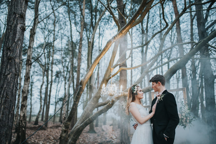 Industrial Into The Wild Greenery Wedding Ideas http://www.ivoryfayre.com/