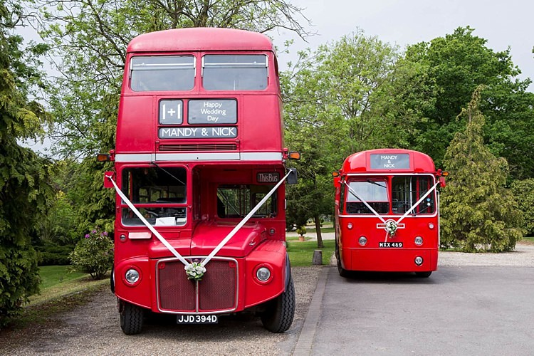 Routemaster Bus Wedding Transport ThisBus.com Wedding UK Blog
