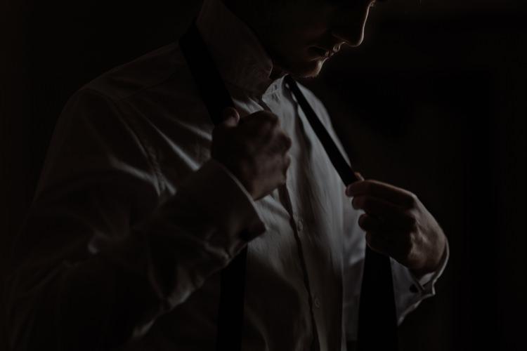 Groom Ceremony Preparations White Shirt Tie Breathtaking Wild Scotland Elopement http://www.theferros.com/