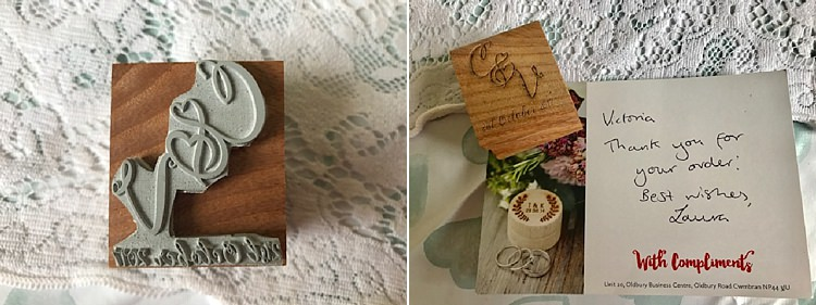 The Bride Diaries Invitation Wedding Stamp DIY Stationery