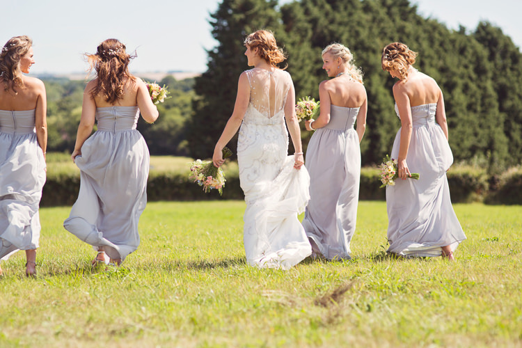 Long Lilac Bridesmaid Dresses Relaxed Festival Tipi Wedding http://www.cottoncandyweddings.co.uk/