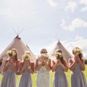 Relaxed Festival Inspired Tipi Wedding