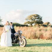 Modern & Rustic Ivory Barn Wedding