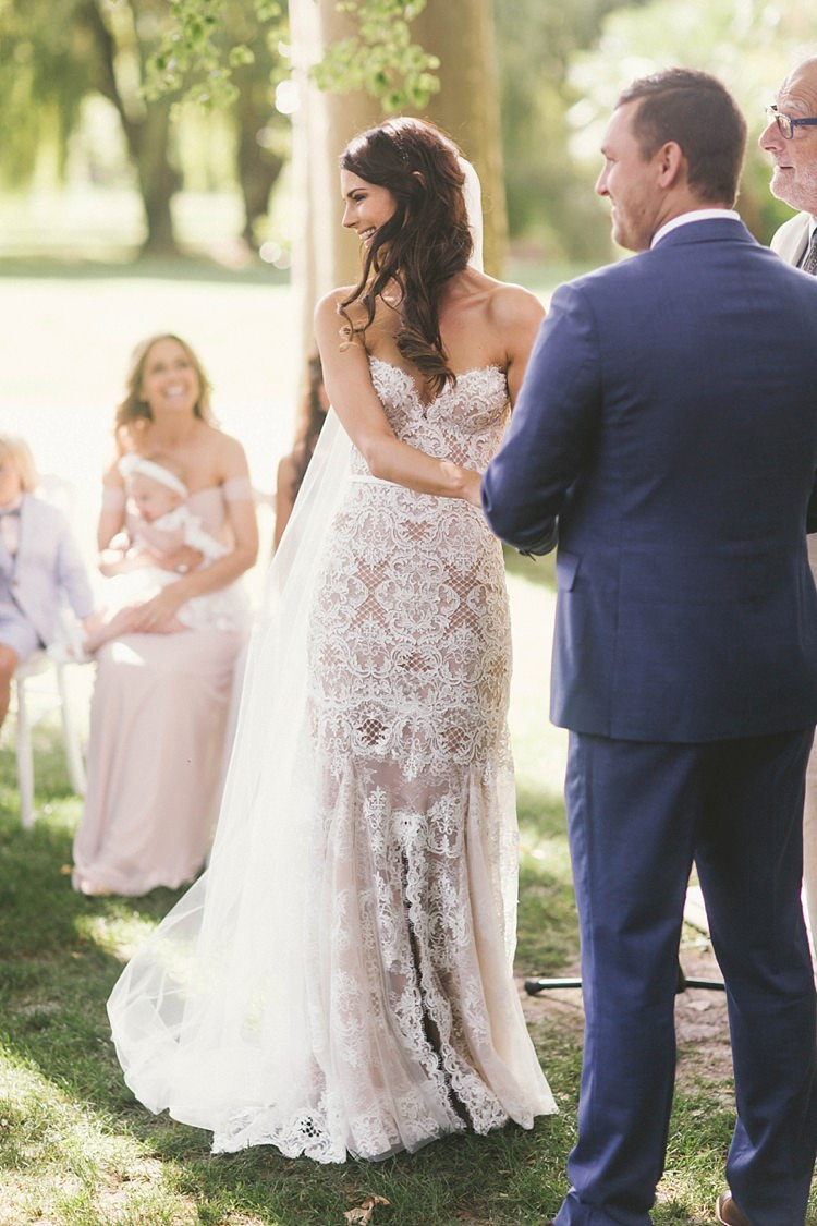 Lenka of Melbourne Bride Bridal TM Lewin Groom Natural Romantic Chateau Destination Wedding South of France http://www.jayrowden.com/