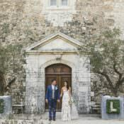 Natural & Romantic Château Destination Wedding in the South of France