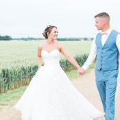 Romantic Soft Pastels Barn Wedding