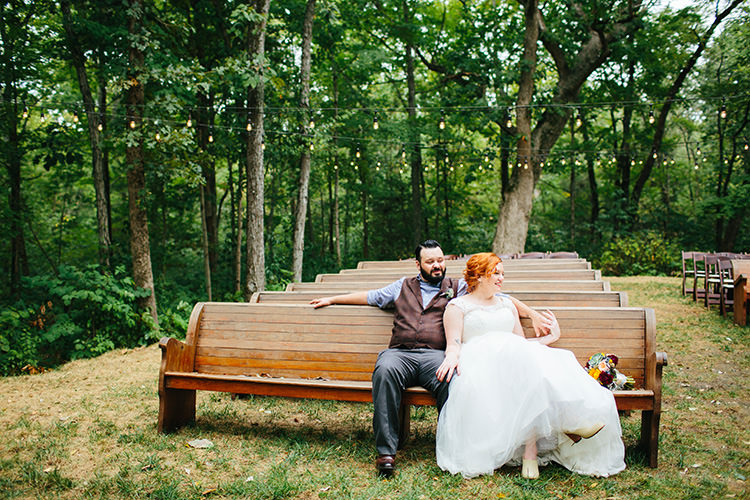 Bride Lace Tulle Bridal Gown Tan Boots Multicoloured Bouquet Groom Dark Grey Pants Light Grey Shirt Custom Vest Outdoor Ceremony Location Creative Quirky Rustic Barn Wedding Tennessee http://www.alexbeephoto.com/