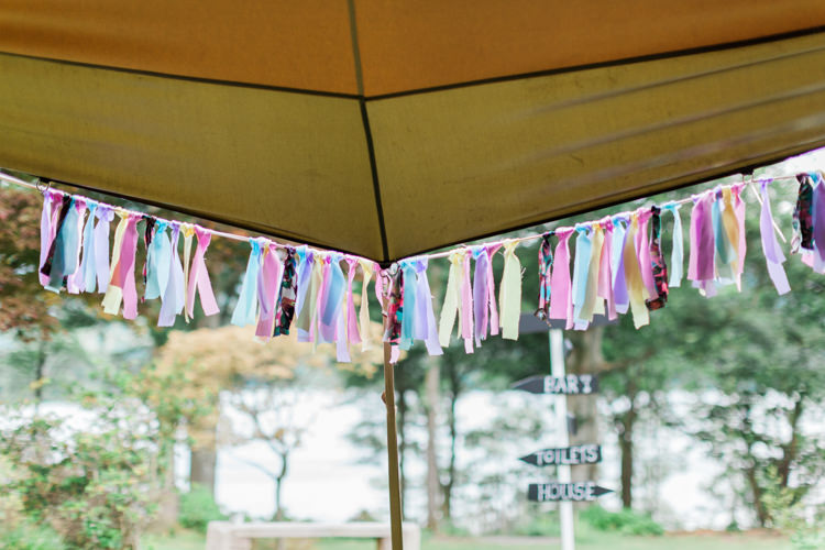 Rag Bunting Tassel Decor Beautifully Romantic Eclectic Tipi Wedding http://www.jobradbury.co.uk/