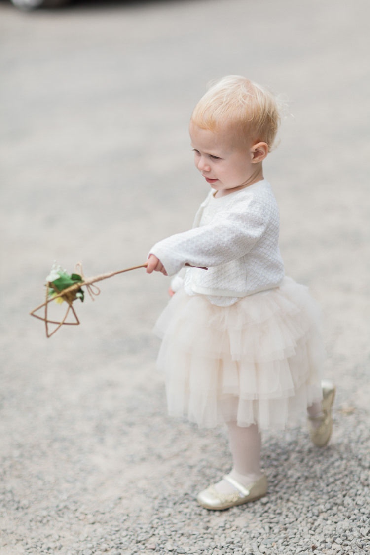 Flower Girl Wand Flower Tutu Glitter Pumps Cardigan Beautifully Romantic Eclectic Tipi Wedding http://www.jobradbury.co.uk/