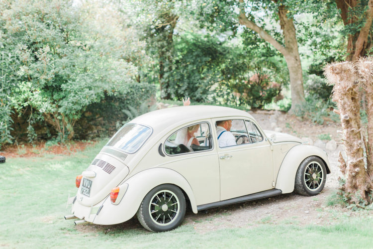 Beetle Car Transport Beautifully Romantic Eclectic Tipi Wedding http://www.jobradbury.co.uk/