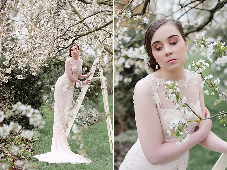 Cherry Blossom Soft Spring Wedding Ideas http://www.photographybybea.co.uk/