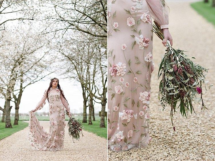 Cherry Blossom Soft Spring Wedding Ideas http://www.photographybybea.co.uk/