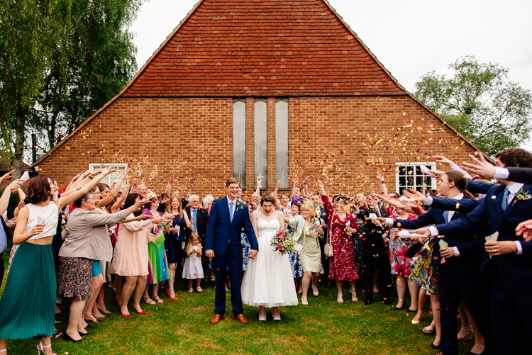 Confetti Throw Quirky Vintage Fun Loving Hall Wedding http://www.karolinasimankowicz.com/