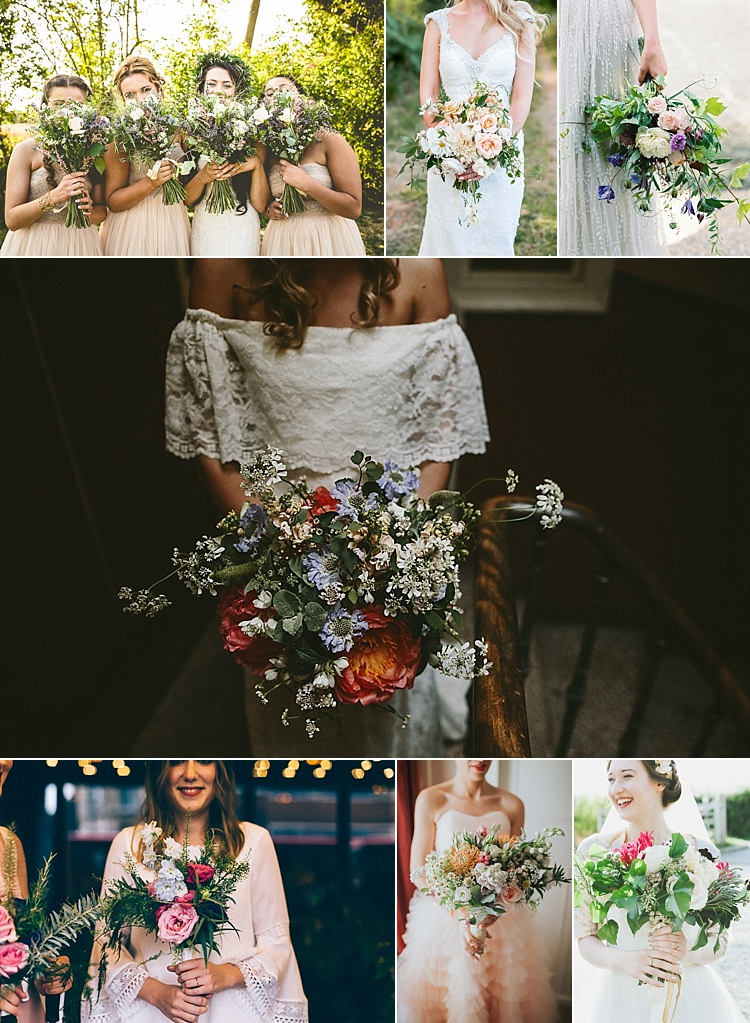 2017 Wedding Flower Trends Bouquets Ideas Inspiration