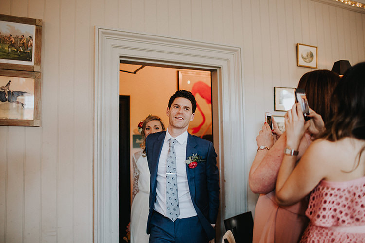 Casual City Stylish Pub Wedding http://www.ireneyapweddings.com/