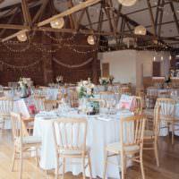 The Green Cornwall Barn Decor Venue