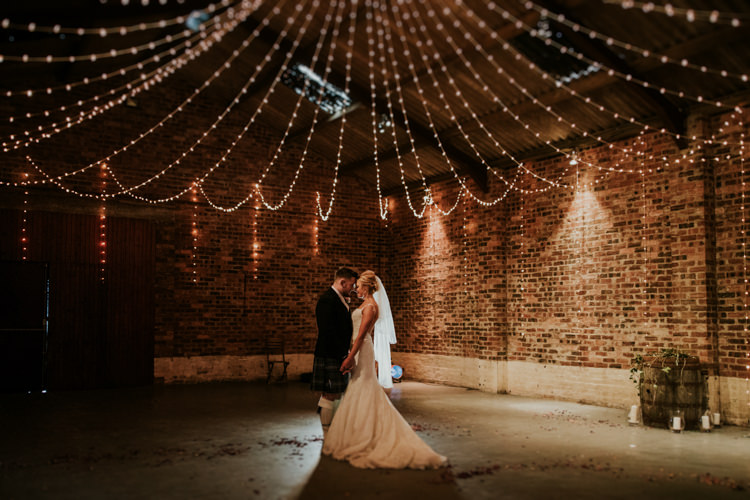 Fairy Lights Lighting Magical Blush Pink Gold Barn Wedding http://www.johnjohnstonphotography.co.uk/