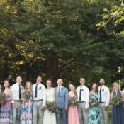 Casual Country Farm Wedding in Ontario