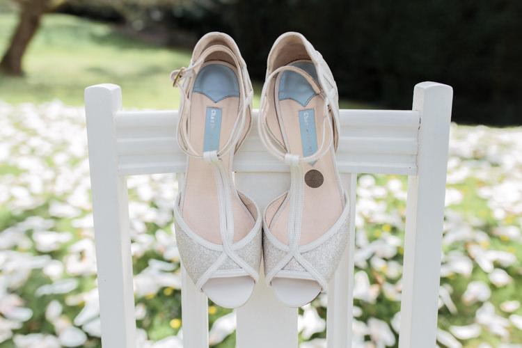 Charlotte Mills Shoes Pretty Soft Country Garden Pastel Wedding Ideas https://www.ellielouphotography.co.uk/
