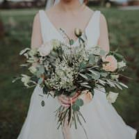 Modern Botanical Copper Geometric Wedding Ideas http://www.kategrayphotography.com/