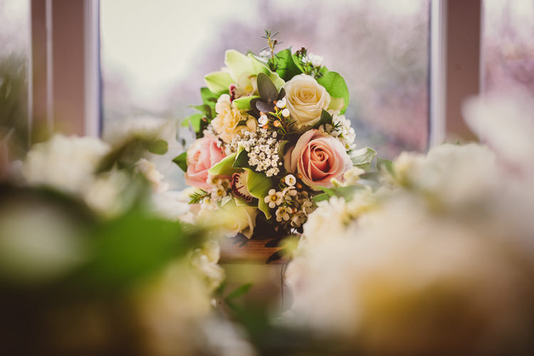 Rose Wax Flowers Bouquet Bride Bridal Rustic Homemade Country Tipi Wedding http://www.pottersinstinctphotography.co.uk/