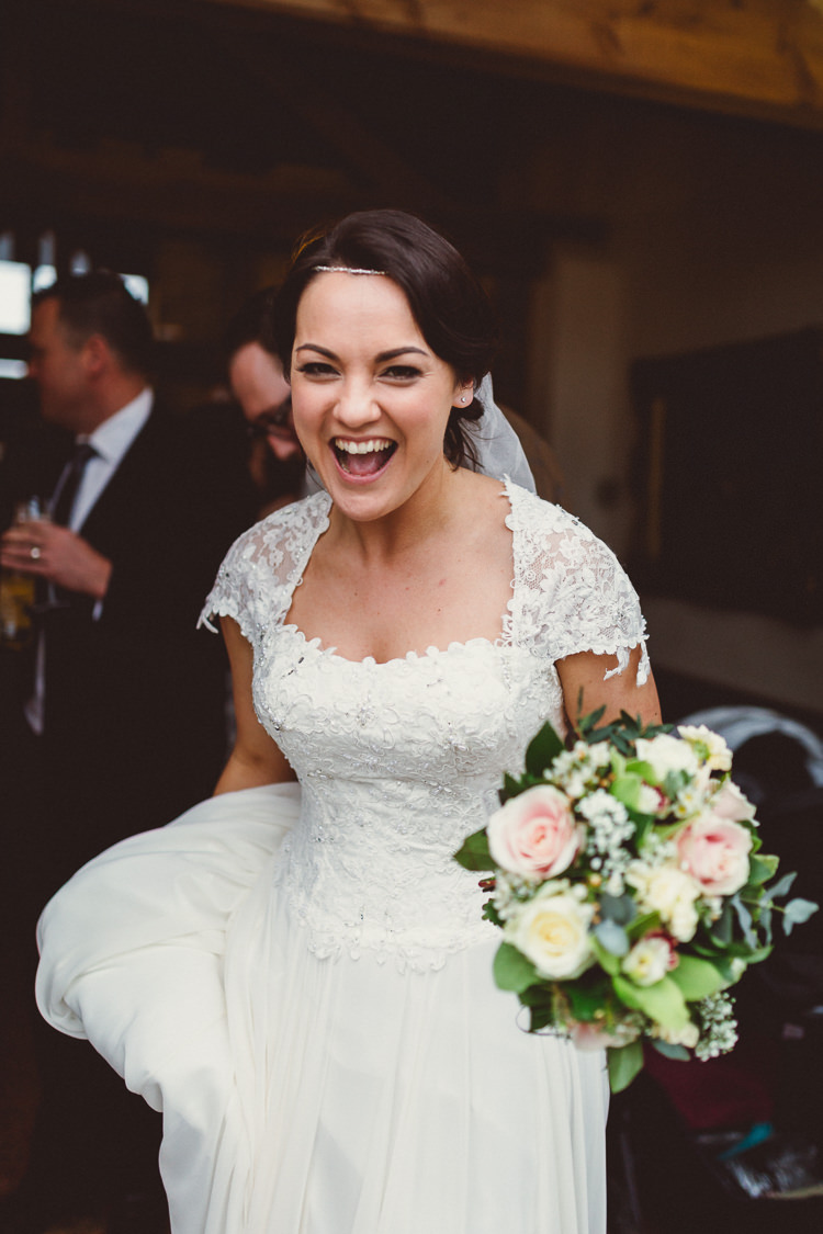 Amanda Wyatt Dress Gown Bride Bridal Sleeves Silk Lace Rustic Homemade Country Tipi Wedding http://www.pottersinstinctphotography.co.uk/