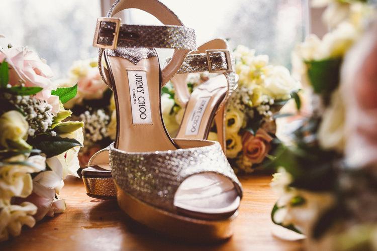 Silver Jimmy Choo Shoes Bride Bridal Rustic Homemade Country Tipi Wedding http://www.pottersinstinctphotography.co.uk/