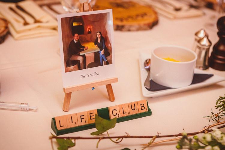 Polariod Table Names Rustic Homemade Country Tipi Wedding http://www.pottersinstinctphotography.co.uk/