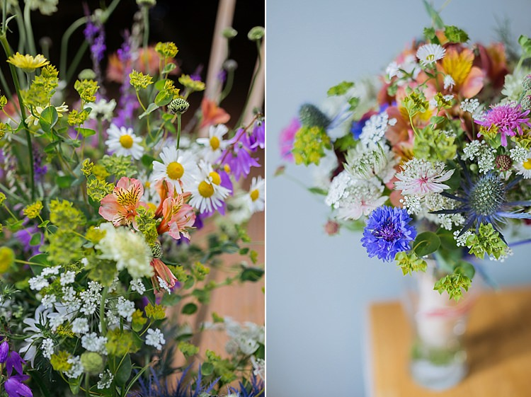 UK British Seasonal Home Grown Wedding Flowers Jamesandlianne