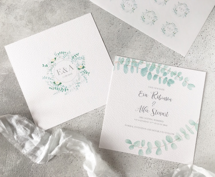 Sugar and Spice Designs Stationery Wedding Invitations