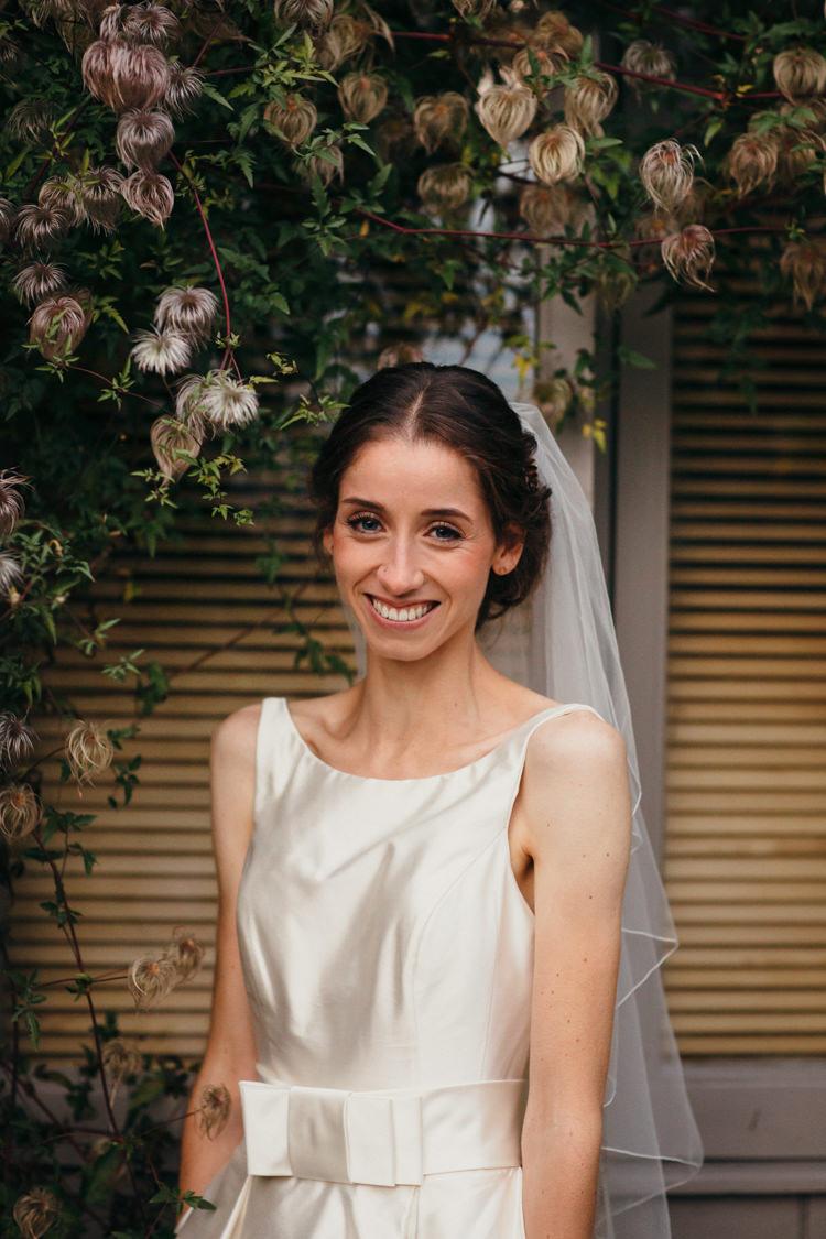 Make Up Bride Bridal Natural Pretty Minimal Botanical Copper Greenery Wedding http://www.frecklephotography.co.uk/