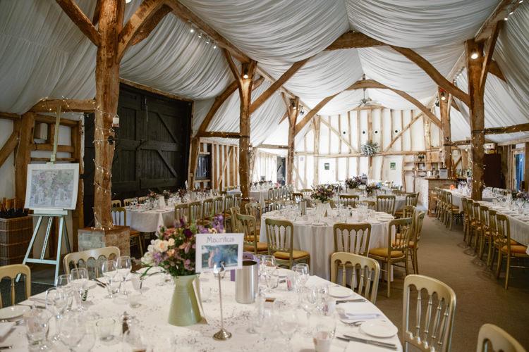 South Farm Barn Reception UK Pretty Purple Pastels Country Wedding http://www.nataliejweddings.com/
